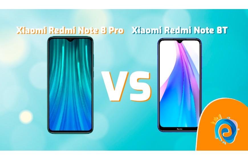 XIAOMI Note 8 Pro y Xiaomi Note 8T